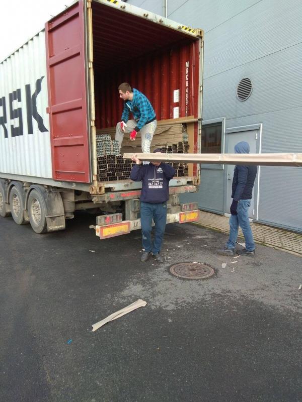 Разгрузка фур, контейнеров, вагонов