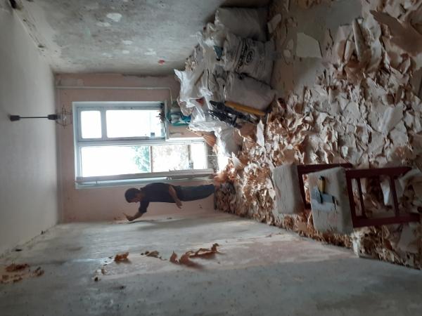 Аккуратный демонтаж. Подготовка к ремонту.