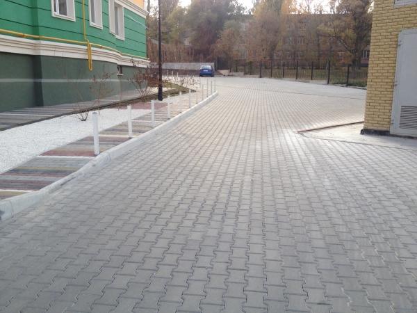 Тротуарная плитка купить Днепр