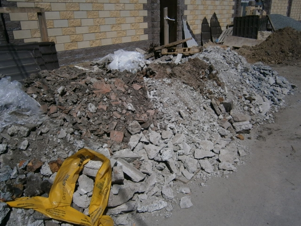 Демонтаж стен и полов в Днепропетровске