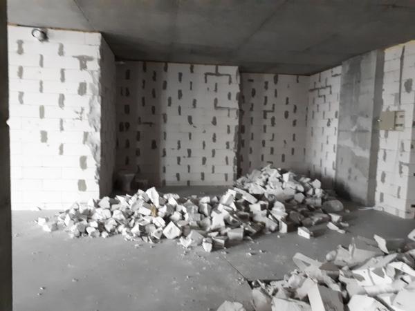 Демонтаж стен и полов в Днепре