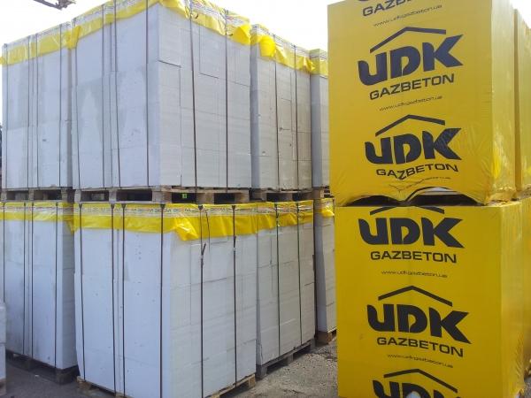Газобетон UDK/ЮДК, доставка включена!