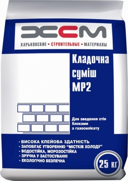 Клей для газобетона UDK/ЮДК