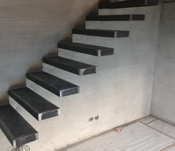 """Консольная лестница, каркас. """"Броневик"""" Днепр."""