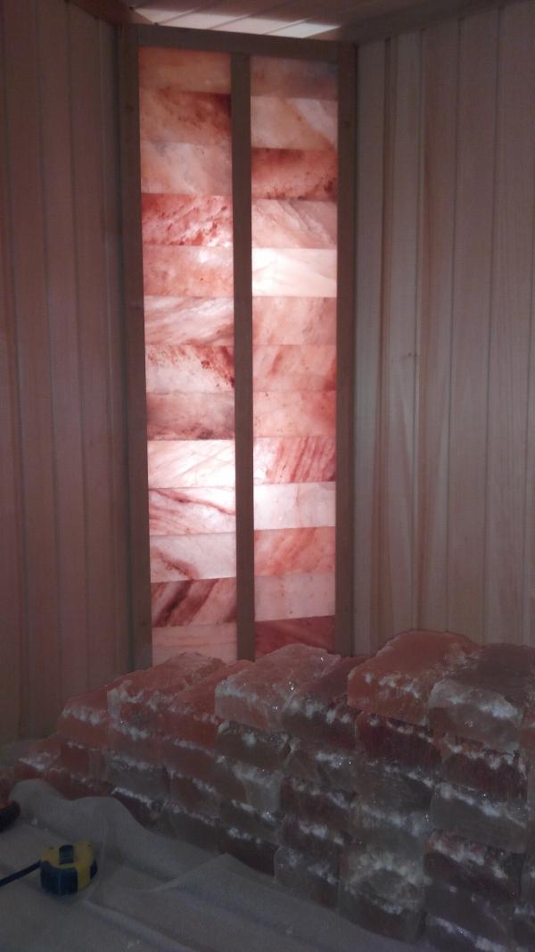 Гималайская соль декоративная отделка помещений.