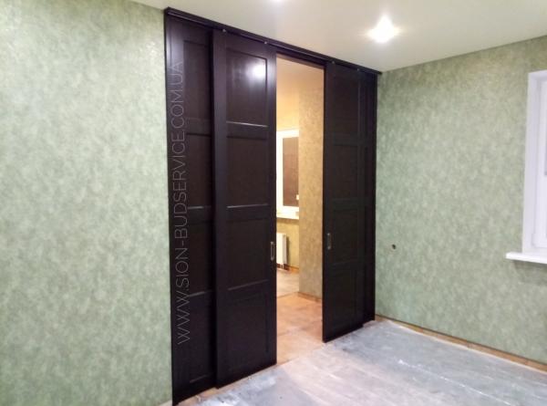 Изготовление дверей, перегородок из дерева