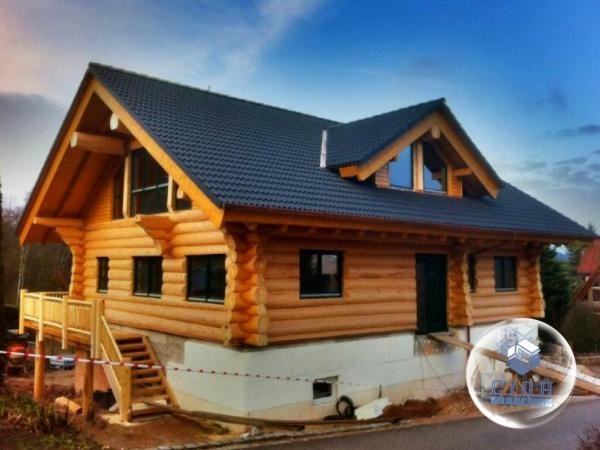 Строительство домов из дикого сруба