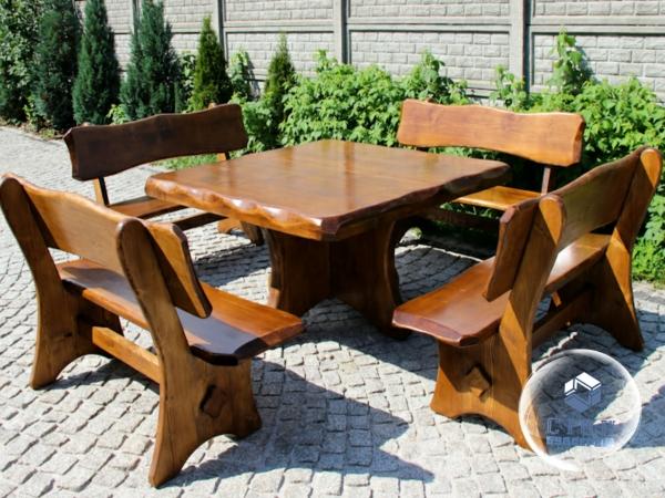 Мебель для сада из дерева